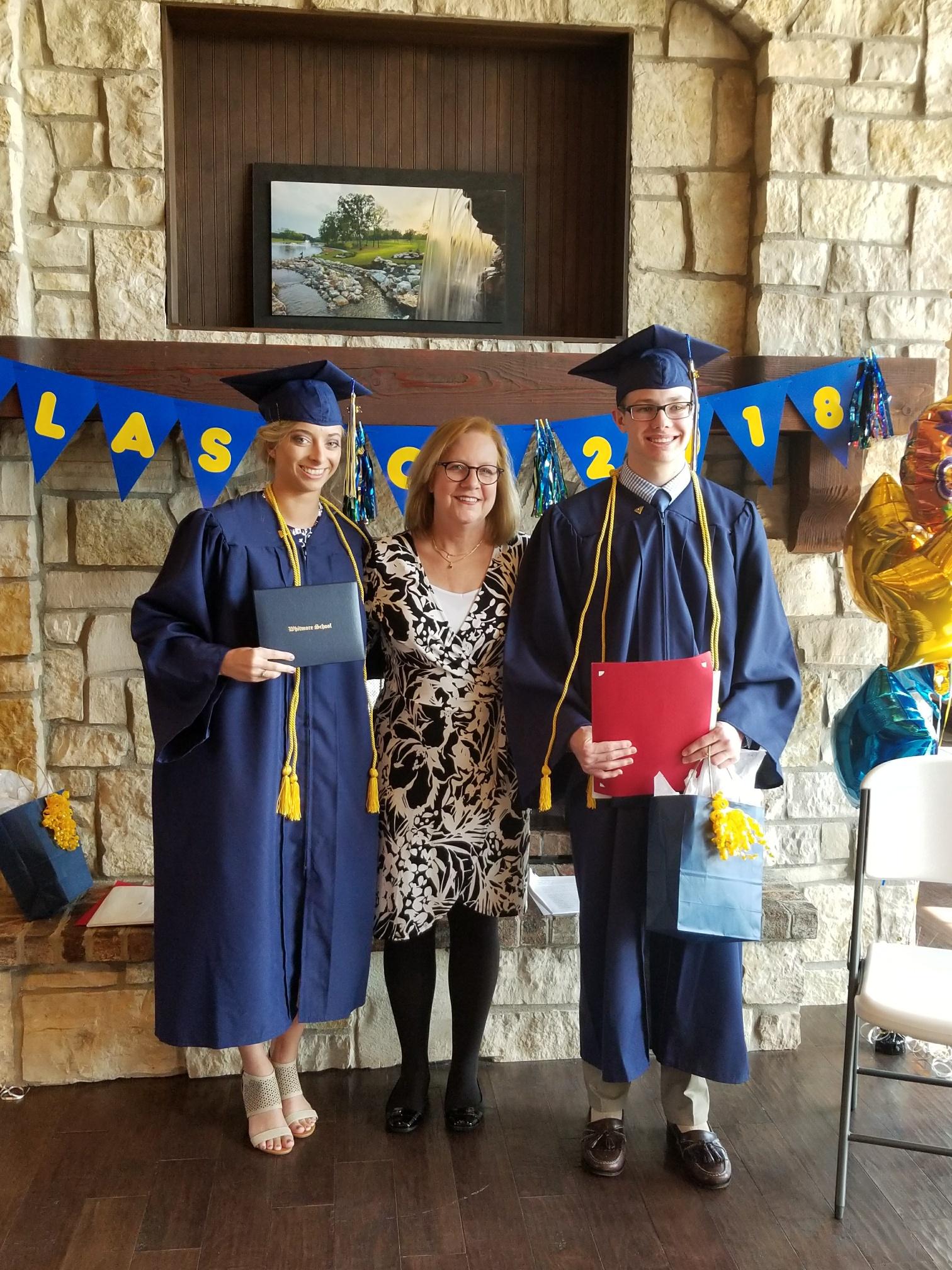 Graduation Maddie & Cameron